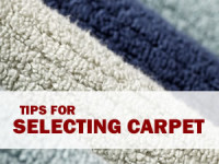 Carpet selection tips