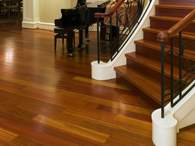 Hardwood floor refinishing and reconditioning