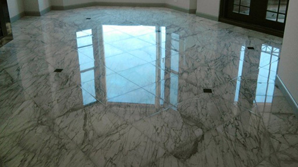 After Marble Polishing
