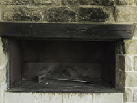 Cleaning your sooty fireplace