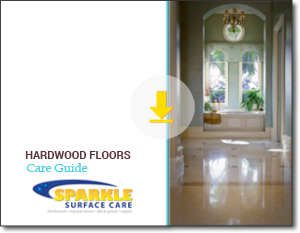 Download our free Hardwood Floors Care Guide. It's a great resource full of tips and info. You will want to keep it handy.