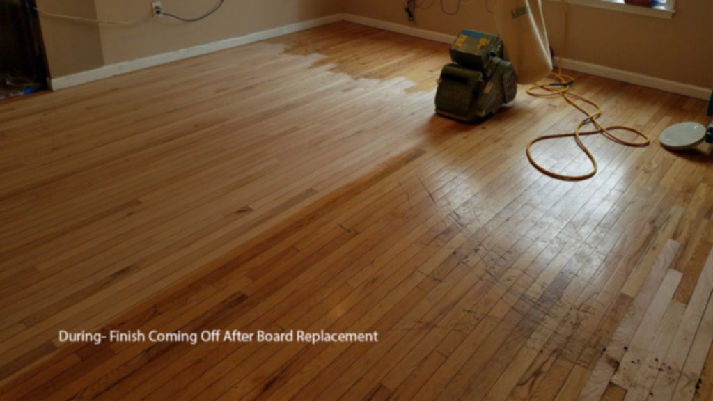 Burlington Group Home S Hardwood Repaired And Refinished