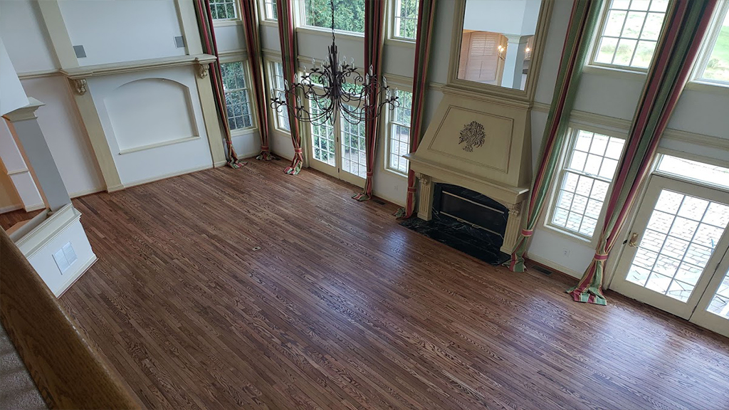 Moorestown Grand Great Room Repaired from Sun Damage