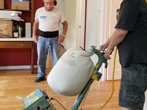 Professional wood floor refinishing
