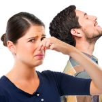 odor problems between spouses