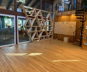 Sand Damage Removed Red Oak Floor Refinished