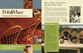 Vermont Natural Coatings Poly Whey for Cedar Run Wildlife
