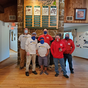 Cedar Run Wildlife Sanding Team